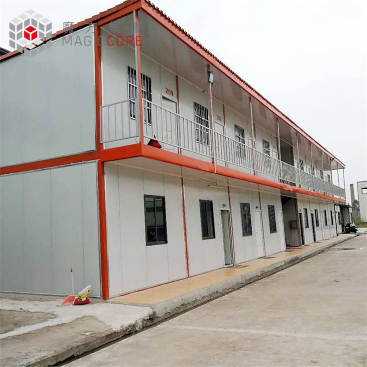 Fábrica casa prefabricada 20ft oficina del envío Casa del envase para la venta utilizado