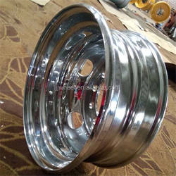 Made in China chrome tubeless wheel for bus wheel