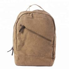 T1805 Cotton Canvas School Backpacks for Teenagers