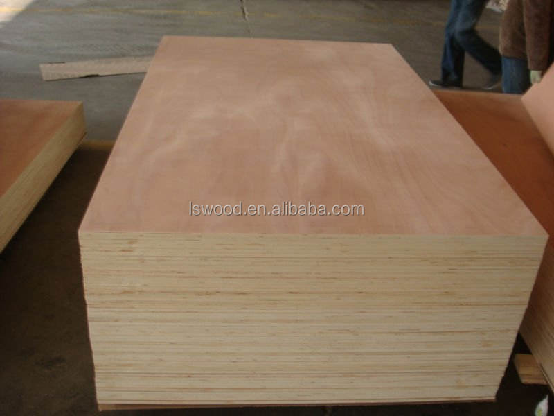 Plywood Manufactures 6mm 18mm Okoume Laminated Plywood/wood Veneer Plywood For Furniture