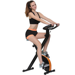 China Wholesale home use folding exercise bike ab exercise Fitness Spinning bike trainer