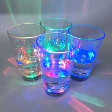 Party gift cheap OEM price colorful 340ml 12oz FDA flashing plastic LED cup