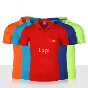 Promotion OEM Customized 100% Polyester Custom Design Printing Dry Fit Polo T-shirt