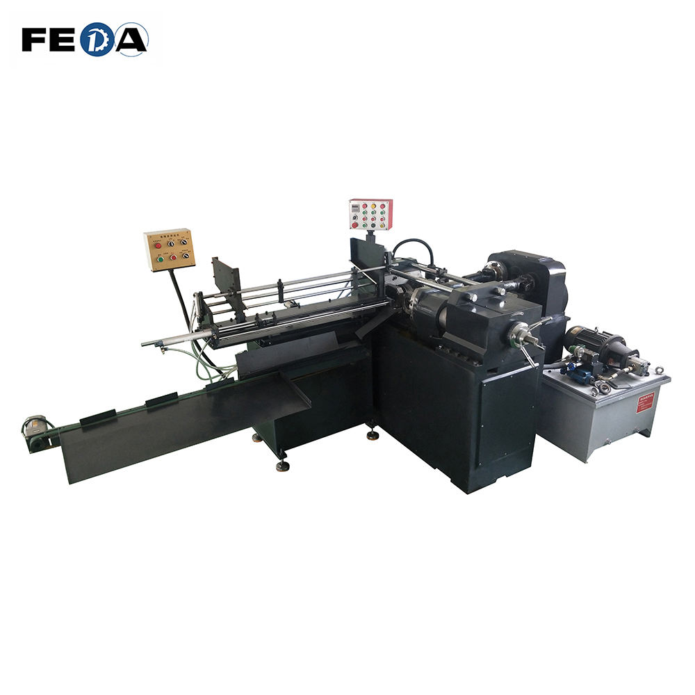 FEDA automatic ball bolt thread rolling machine railway bolts screw machinery u bolt thread making machine
