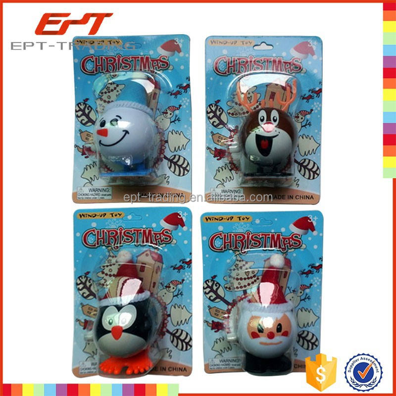 Wind Toy Christmas Craft Wind Up Toy For Kids