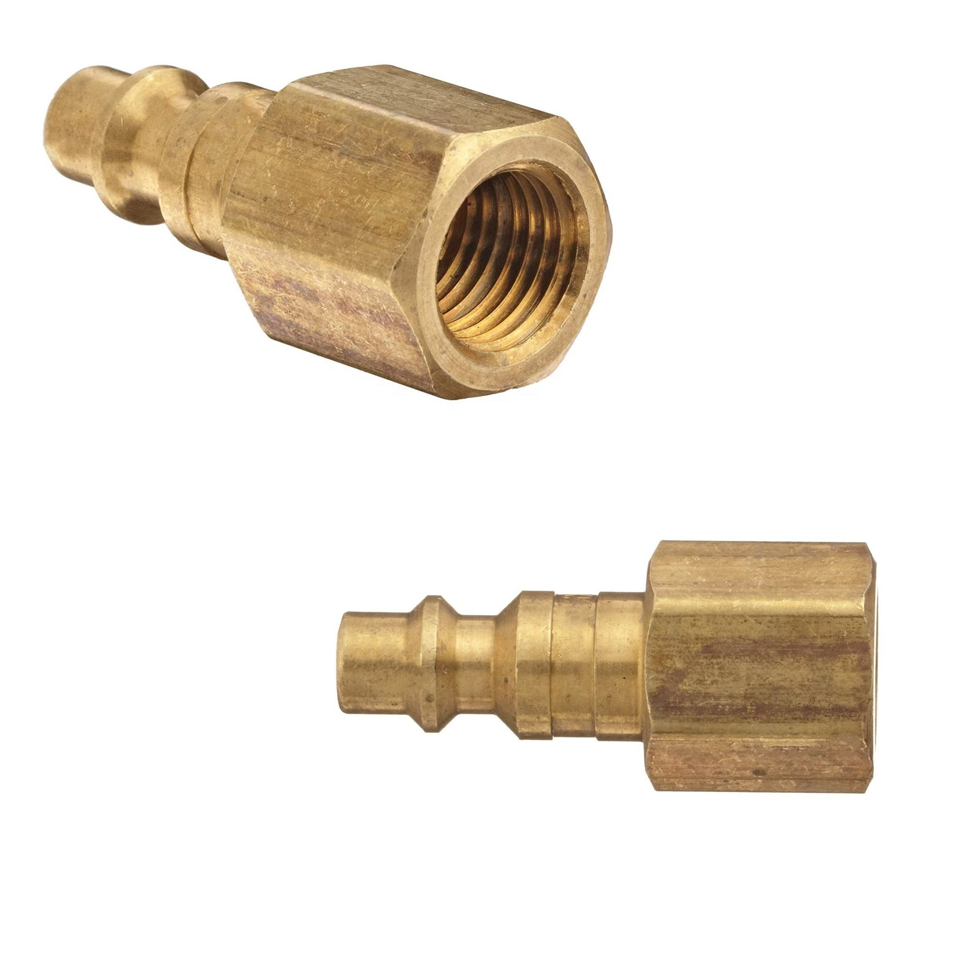 10Pcs Tailonz Pneumatic 3-Way 1//4 Inch Barb Tee Brass Hose Fitting