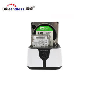 Shenzhen factory wholesale double sata to usb 3.0 hdd docking orico usb enclosure case