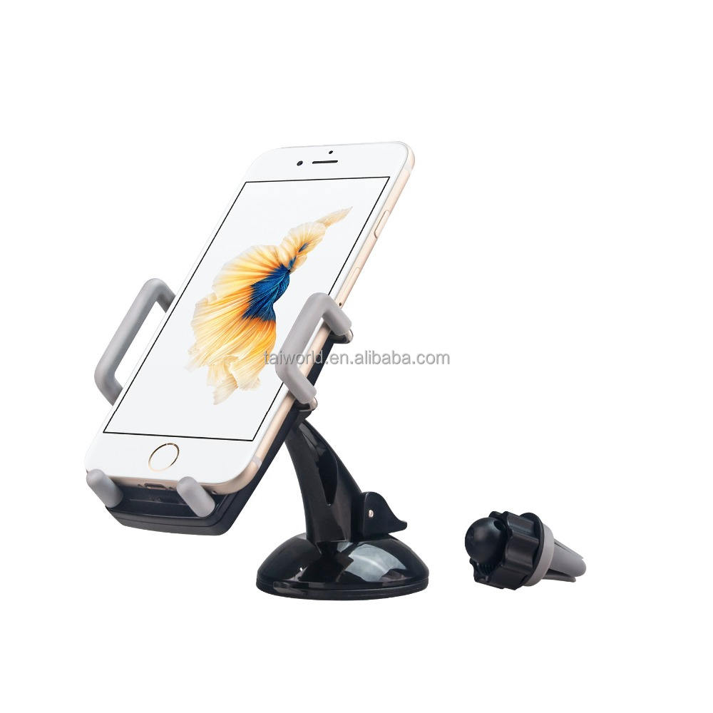 Newest Design Car Air Conditioner Outlet Stents Vent A/C Port Mount Holder For Smart Phone