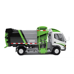 New  side loading compactor kitchen garbage truck 6m3 for sale