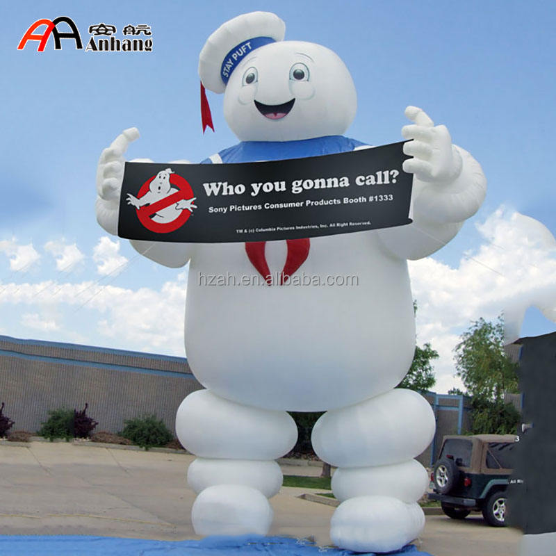 Stay Puft Marshmallow Man 20ft Inflatable Character