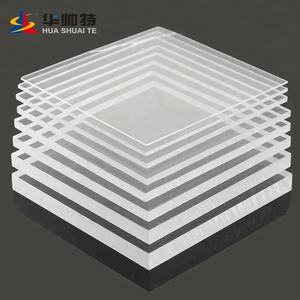 HUASHUAITE Factory price clear plastic acrylic sheet 100% raw material 48*96 inch