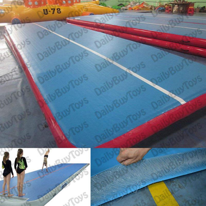 DG02 Плоский надувной Gym Pro Silent Air трек для гимнастики, DWF герметичный прочный гимнастический мат из безопасного материал