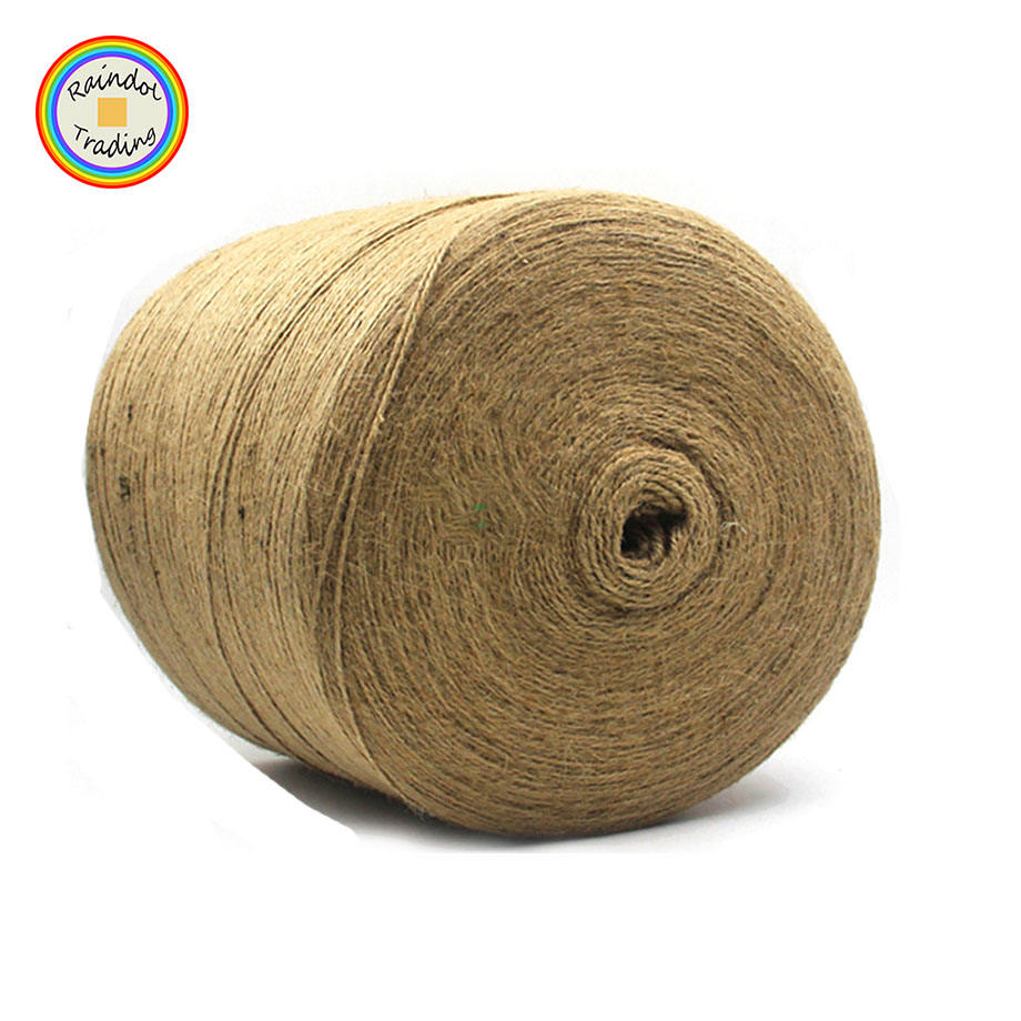 YWDF219 RDT Natural 2 Ply 3 Ply 1mm 2mm 3mm Festival Wedding Party DIY Hemp Rope Roll Photo Wall Use Three Strands Jute Rope