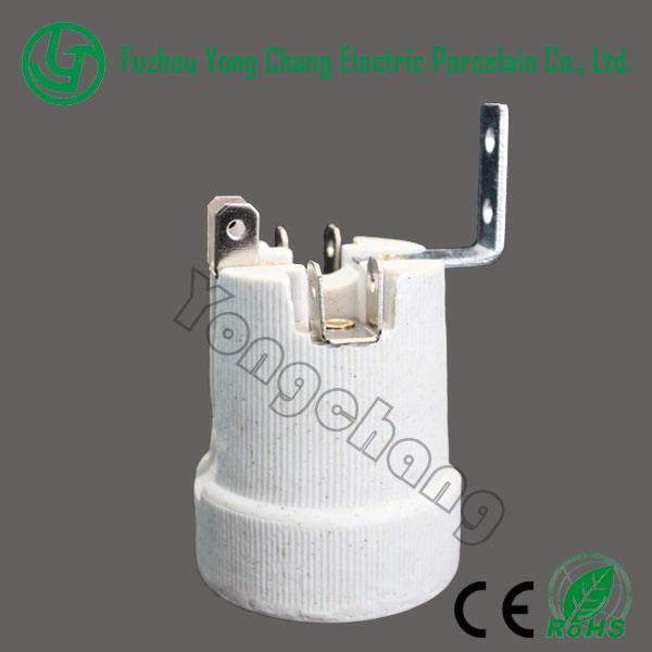 электрическая лампа держатель e27 керамический патроны для печей