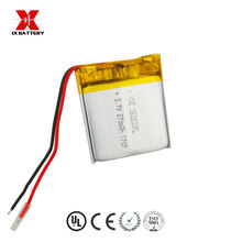 pouch square flat deep cycle 3.7v 270mah  li-ion lipo battery 352830