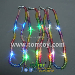 4 Leds Mini Beads Berkedip Led Rosario Kalung