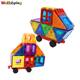 China Manufacturer Children Gift Set Solid Plastic Block and Baby Educational Magnetic Building Toys