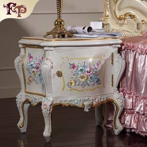 luxury french style bedroom furniture bedstand