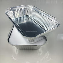 178*107*38mm 450ml FLGB certificate Japan popular size rectangular takeout waterproof aluminum foil lunch box food container