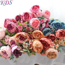 Home decoration 11 heads out artificial peony flower for wedding, hydrangea artificial flower