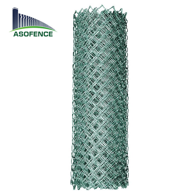 factory cheap price 30m roll length removeable chain link fence enclosed edge durable