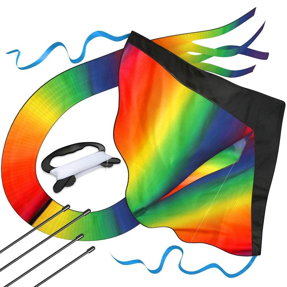 best selling Huge Rainbow Kite For Kids