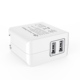 2 Ports 4.8A Mini Dual Port 2 x 2.4A 24W US Plug Smart USB Wall Charger