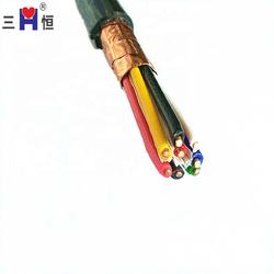 Copper Conductor PVC Insulated and Sheathed Control Cable With Copper Tape of 8*1.5 Size