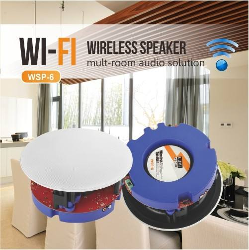 WIFI in-ceiling speaker set Wireless Multi-room Smart Speaker