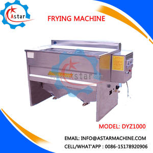 Automatic Frys Equipment For Turkey Chicken Potato Chips Peanut