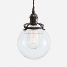 modern glass pendant lamp ball /glass ball pendant lights/glass ball chandelier