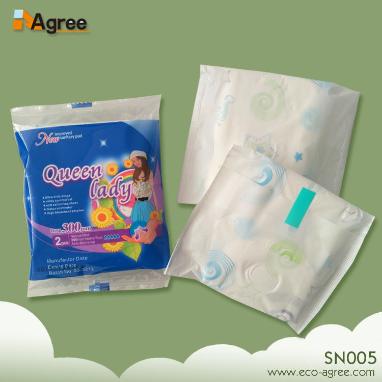 Reusable Cherish Organic Cotton Sanitary Pads Pouch Toalla Sanitaria
