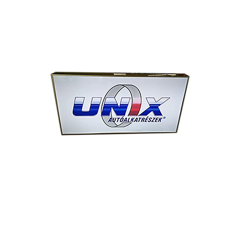 Formación de vacío de publicidad cajas de luz rectángulo caja de luz con letras de acrílico para uso al aire libre