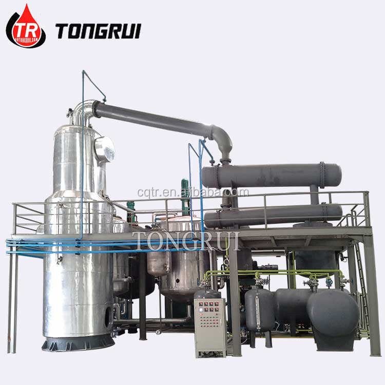 Made in China Used Waste Oil Recycling Machine Distillation to Base Oil