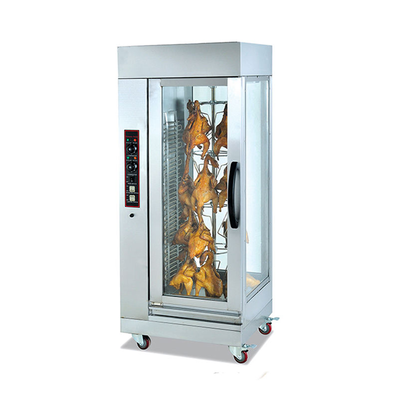 Commercial electric vertical rotary duck roasting oven with hold 15 duck (EB-206)