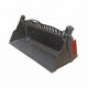 skid steer loader 4 in 1 bucket four in one bucket
