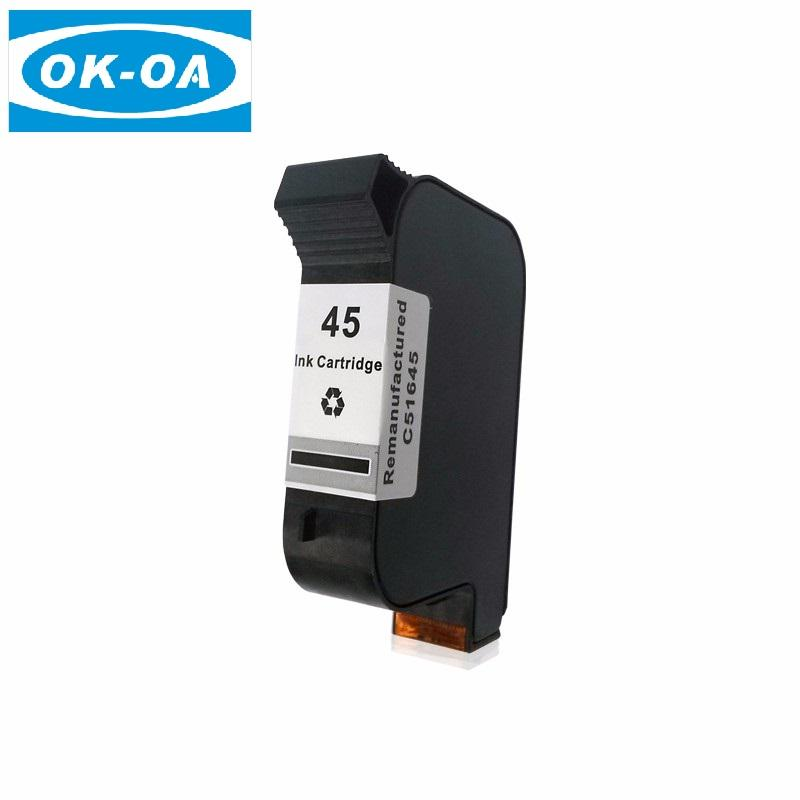 Beste aanbieding remanufactured inkjet printer 51645a lege cartridge voor 45