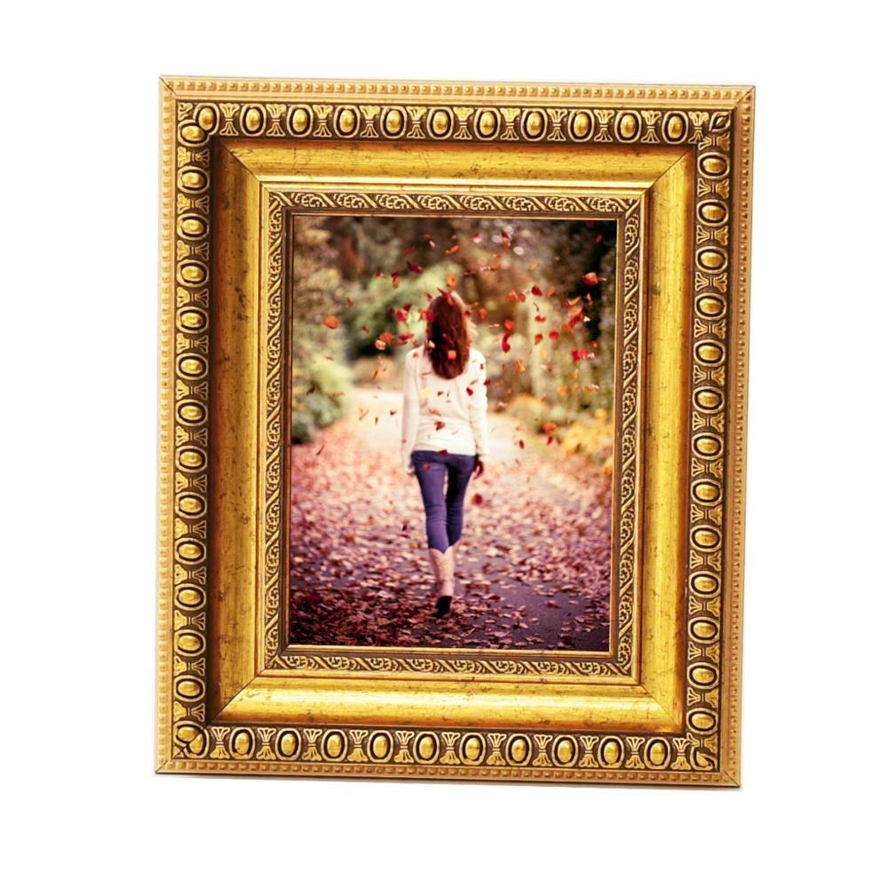 Frames Arqadia Gothic, Aged Gold Plastic PS Foto Frame voor Verkoop, <span class=keywords><strong>4x6</strong></span>