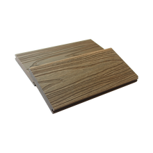 Waterproof outdoor Embossing Wood Grain texture Composite WPC co-extrusion Decking flooring