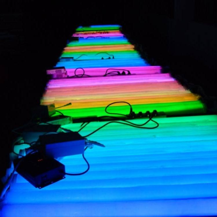 Hot Dimbare Kleur Veranderende Led Tube Rgb T5/T8 Led Buis T8 Multicolor Led Buis Verlichting