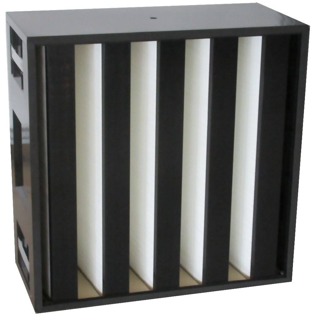 Hepa ABS Frame Protection Rigid Box Air Filter For Ventilation System