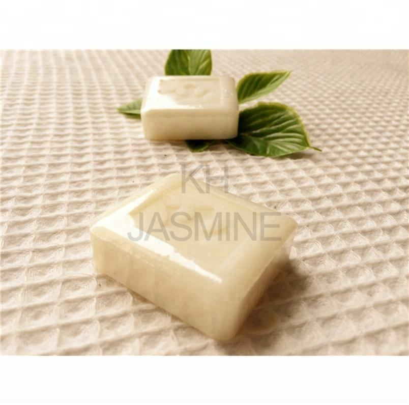 Wholesale Logo Customized Square Shrink Packed 30g Hotel Guest Soaps