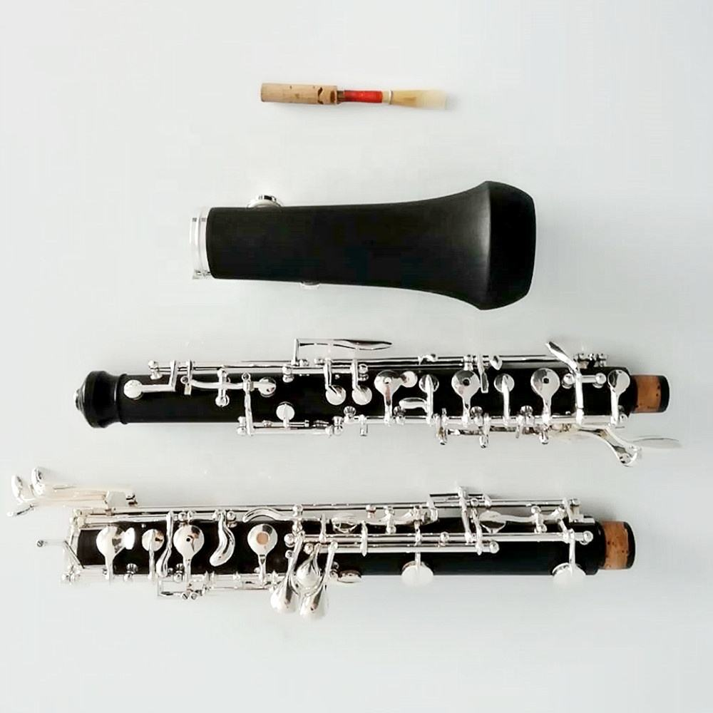 Popular bakelite silver-plated keys oboe wind instruments