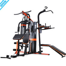 SJ-M6 Superior quality 3 station multi home gym strength training equipment for wholesale