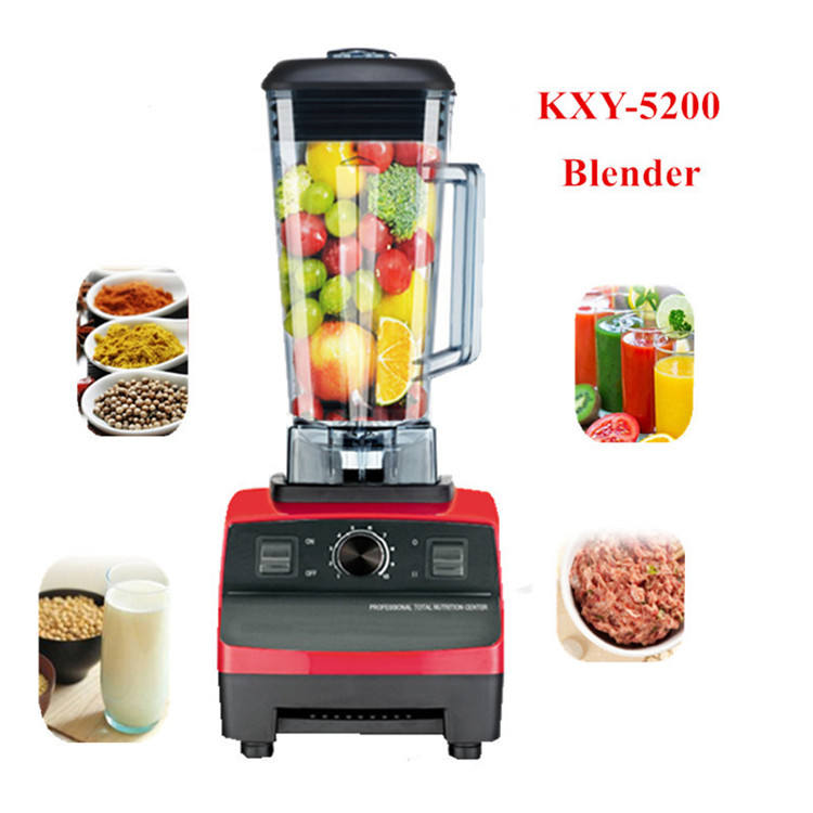 BPA free 2200W Heavy Duty Commercial Blender Grade Blenders Mixer Fruit Blender