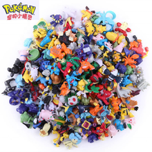 Wholesale Good Quality 2-3cm Mini Child Toy Action Figure pokemon go for Kids