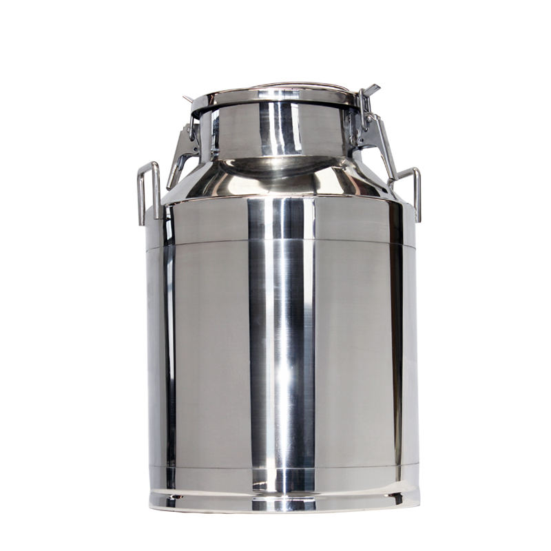 Large Capacity Stainless Steel Fruit Juice Pail Milk Barrel