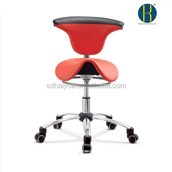 Graphic Customization [ Chair Barber ] Salon Barber Chairs Synthetic Leather Material Saddle Salon Chair Barber Chair Specific Use