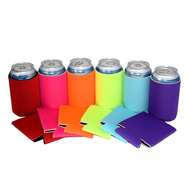 Promotional Blank Custom Neoprene Can Drink Koozies With Your Logo