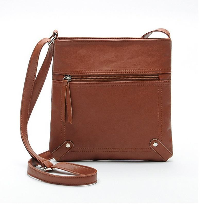 Women Messenger Bags Females Bucket Bag Leather Cross body Shoulder Bag Handbag Satchel
